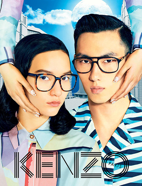 Sunshine Bertrand for Kenzo, Spring/Summer 2015