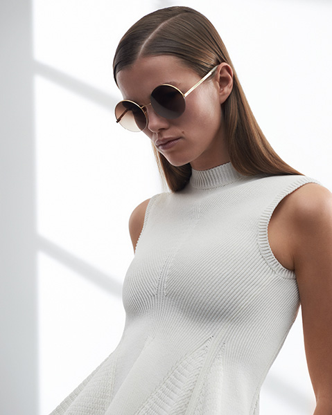 Sunshine Bertrand for Victoria Beckham, Spring/Summer 2016